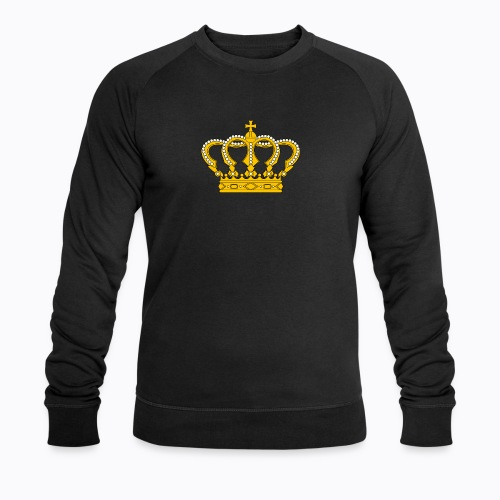 Golden crown - Men's Organic Sweatshirt by Stanley & Stella