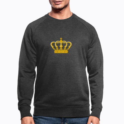 Golden crown - Men's Organic Sweatshirt
