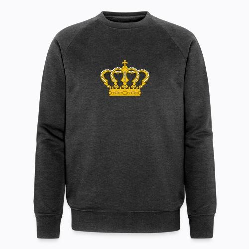 Golden crown - Men's Organic Sweatshirt by Stanley & Stella