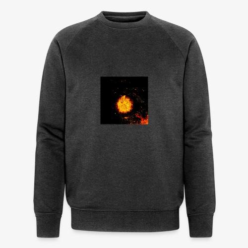 FIRE BEAST - Mannen bio sweatshirt