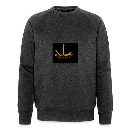 TheAnimator935 Logo - Men's Organic Sweatshirt by Stanley & Stella