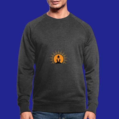 Guramylife logo black - Men's Organic Sweatshirt