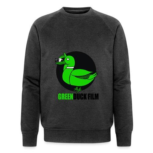 Greenduck Film Logo w. black letters - Økologisk Stanley & Stella sweatshirt til herrer