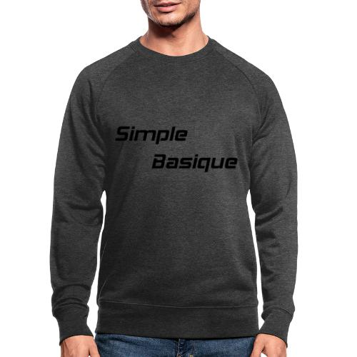 Simple Basique - Sweat-shirt bio
