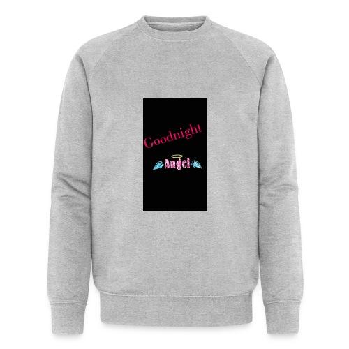 goodnight Angel Snapchat - Men's Organic Sweatshirt