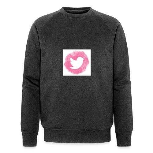 pink twitt - Men's Organic Sweatshirt