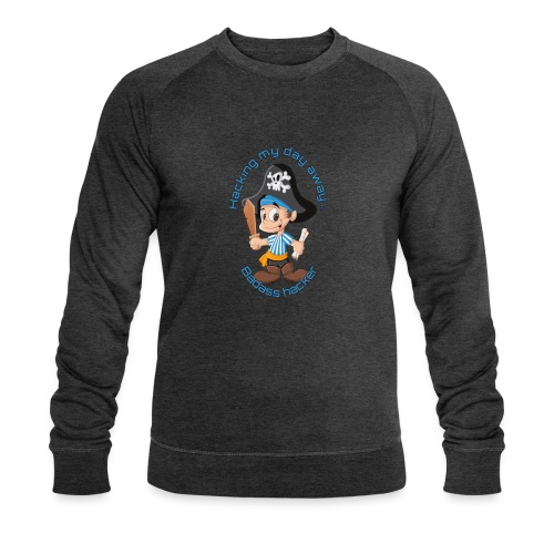 Hacking My Day away - Økologisk Stanley & Stella sweatshirt til herrer