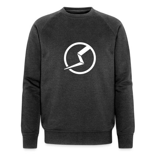 transparent - Männer Bio-Sweatshirt