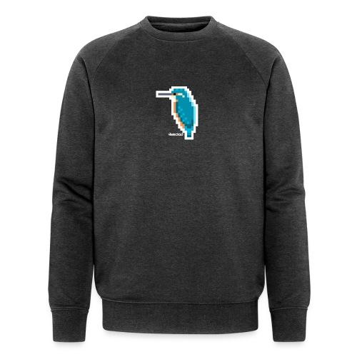 Eisvogel III - Männer Bio-Sweatshirt