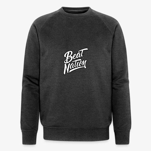 Logo Officiel Beat Nation Blanc - Männer Bio-Sweatshirt von Stanley & Stella