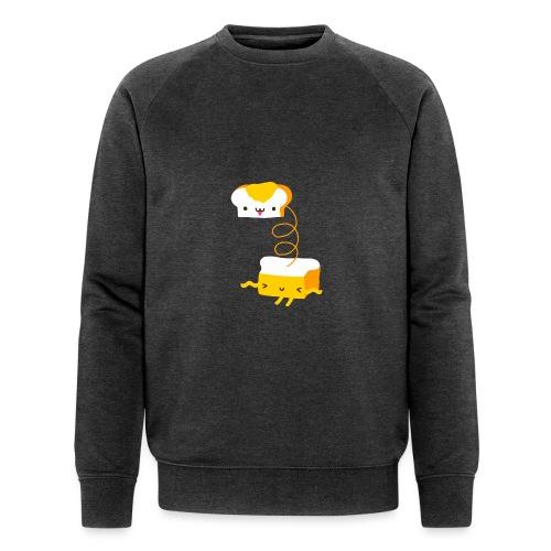 Cat sandwich gatto sandwich - Felpa ecologica da uomo