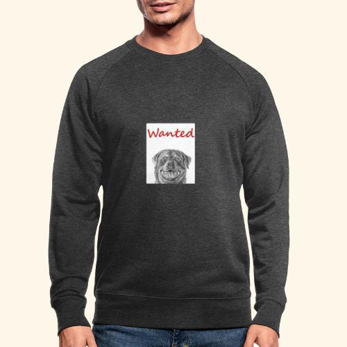 WANTED Rottweiler - Men's Organic Sweatshirt