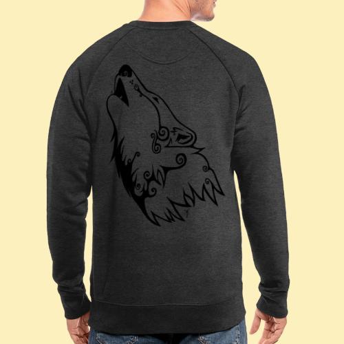 Le Loup de Neved (version traits) - Sweat-shirt bio