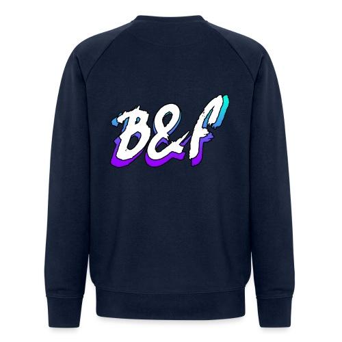 Purple and Blue Fade - Men's Organic Sweatshirt