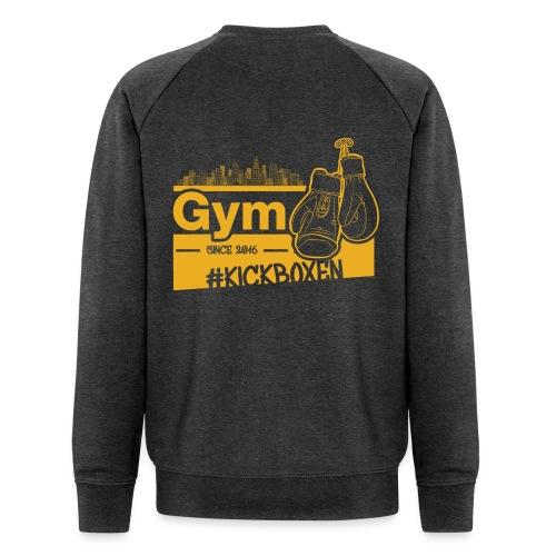 Gym Druckfarbe Orange - Männer Bio-Sweatshirt von Stanley & Stella
