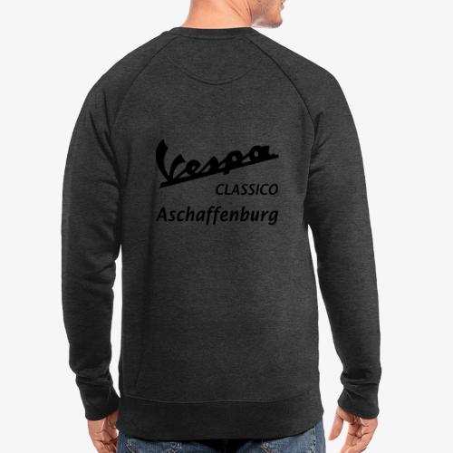 Textlogo - Männer Bio-Sweatshirt