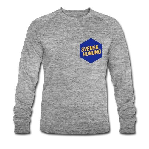 Svensk honung Hexagon Blå/Gul - Ekologisk sweatshirt herr från Stanley & Stella