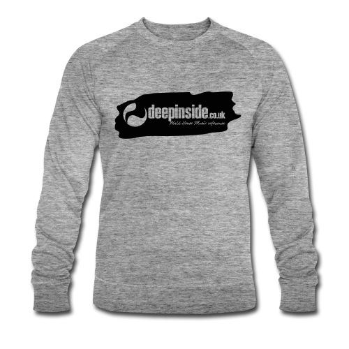 deepinside world reference marker logo black - Sweat-shirt bio Stanley & Stella Homme