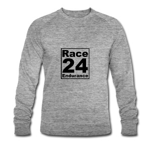 Race24 logo in black - Men's Organic Sweatshirt by Stanley & Stella