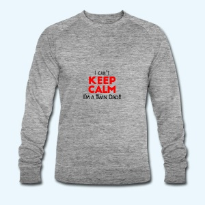 I Can't Keep Calm (Dad's Only!) - Mannen bio sweatshirt van Stanley & Stella