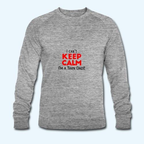 I Can't Keep Calm (Dad's Only!) - Mannen bio sweatshirt van Stanley & Stella