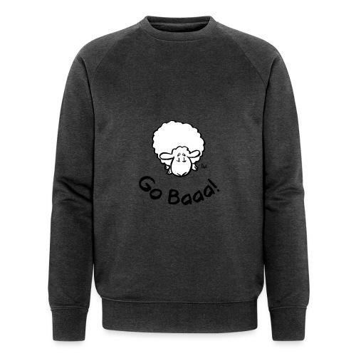 Sheep Go Baaa! - Men's Organic Sweatshirt by Stanley & Stella