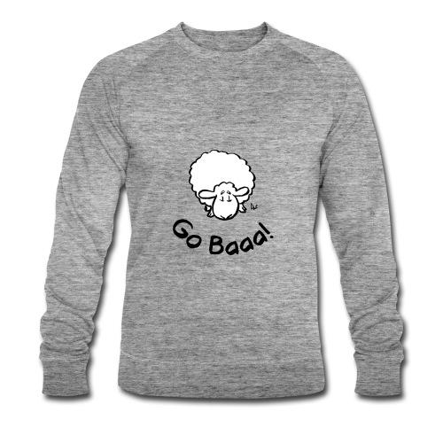 Sauer går Baaa! - Økologisk sweatshirt for menn fra Stanley & Stella