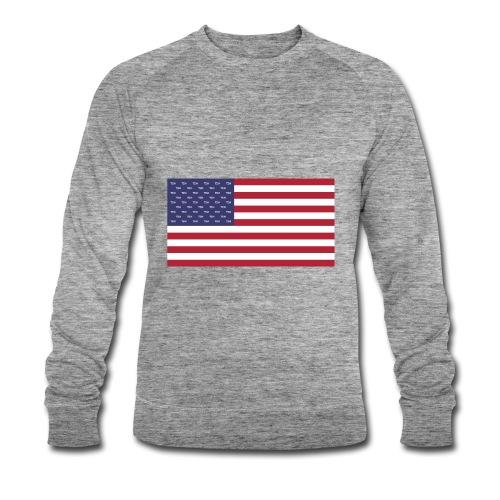 TEN x USA - Männer Bio-Sweatshirt von Stanley & Stella