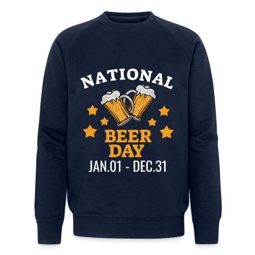 national beer day - Stanley & Stellan miesten luomucollegepaita