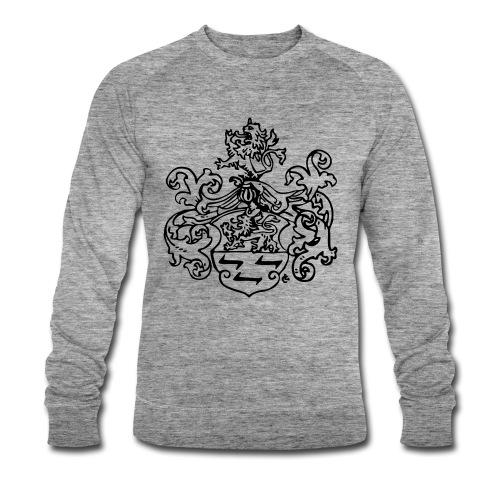 Wappen monochrom - Männer Bio-Sweatshirt von Stanley & Stella