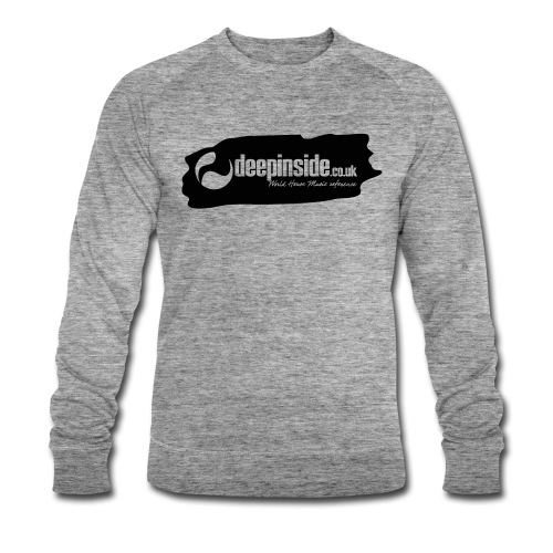 deepinside world reference marker logo black - Men's Organic Sweatshirt by Stanley & Stella
