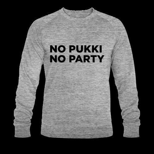 No Pukki, no party - Stanley & Stellan miesten luomucollegepaita