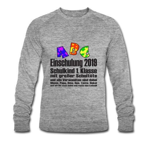 Einschulung Jahr 2019 - Männer Bio-Sweatshirt von Stanley & Stella