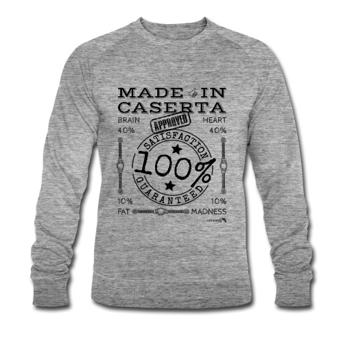 1.02 Made in Caserta - Felpa ecologica da uomo di Stanley & Stella