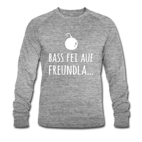 Bass fei auf Freundla - Männer Bio-Sweatshirt von Stanley & Stella