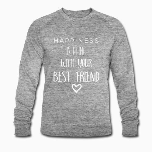 Happiness is 2nd edition white - Men's Organic Sweatshirt by Stanley & Stella