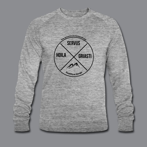 Hoila Servis Griasti - Männer Bio-Sweatshirt von Stanley & Stella