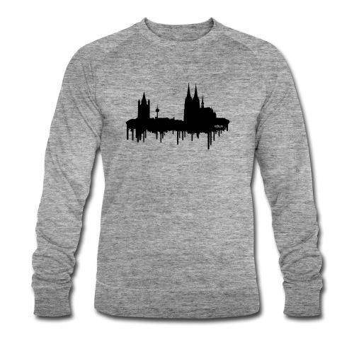 Skyline Köln - Schwarz - Männer Bio-Sweatshirt von Stanley & Stella