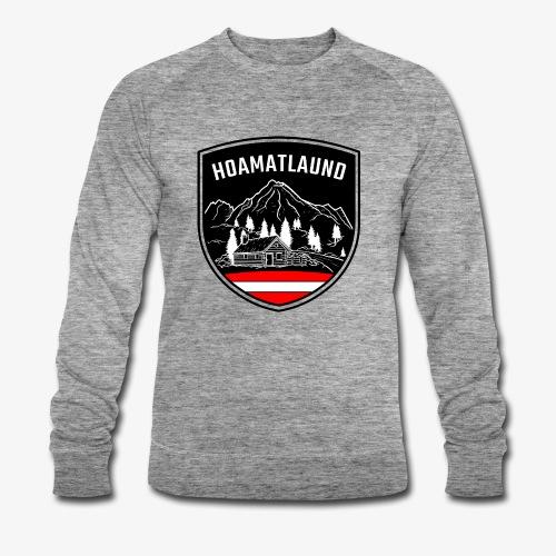Hoamatlaund logo - Männer Bio-Sweatshirt von Stanley & Stella