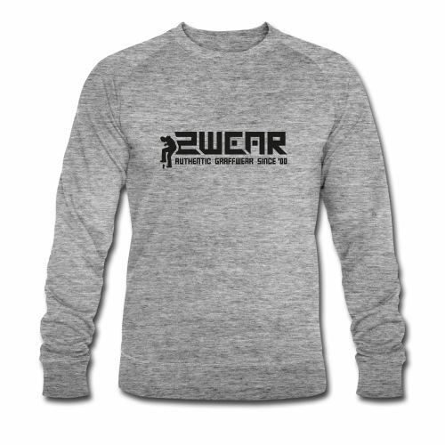 2wear org tagline logo blk - Økologisk Stanley & Stella sweatshirt til herrer
