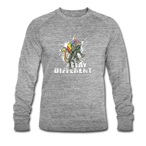 Stay Different - Imperial Unicorn - Männer Bio-Sweatshirt von Stanley & Stella