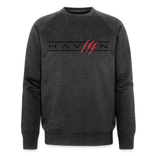 Logo Zwart - Mannen bio sweatshirt van Stanley & Stella