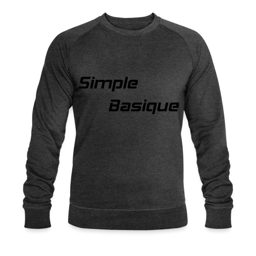 Simple Basique - Sweat-shirt bio Stanley & Stella Homme