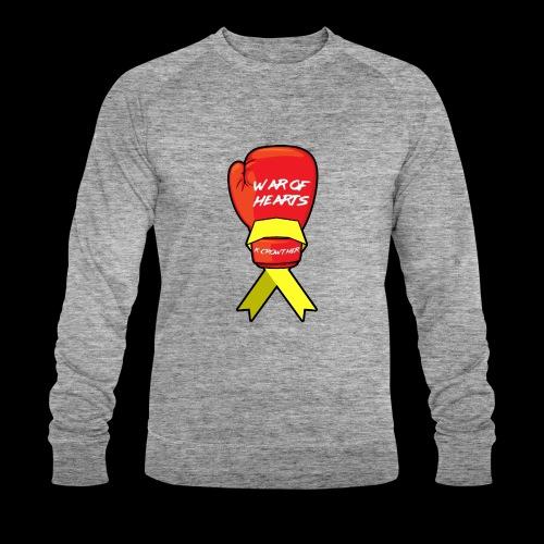 War of Hearts | K. Crowther Glove - Men's Organic Sweatshirt by Stanley & Stella
