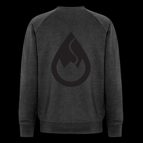 WSC-Logo schwarz - Männer Bio-Sweatshirt von Stanley & Stella