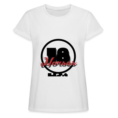 18 Horses - NKPG (Black) - Oversize-T-shirt dam