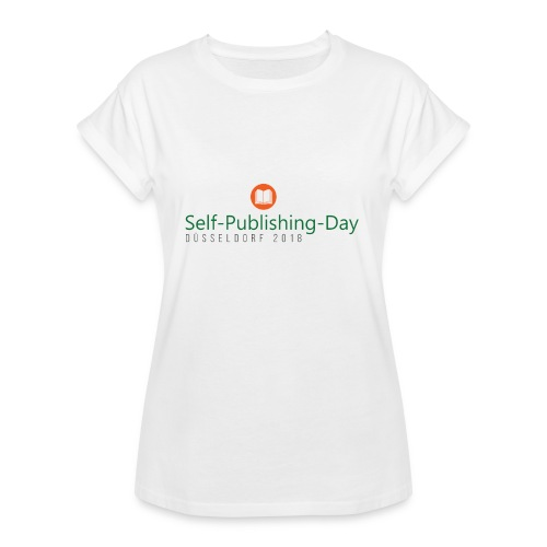 Self-Publishing-Day Düsseldorf 2018 - Frauen Oversize T-Shirt