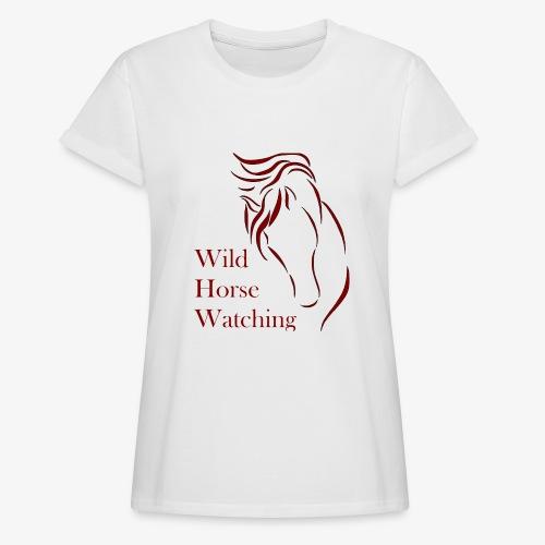 Logo Aveto Wild Horses - Maglietta ampia da donna