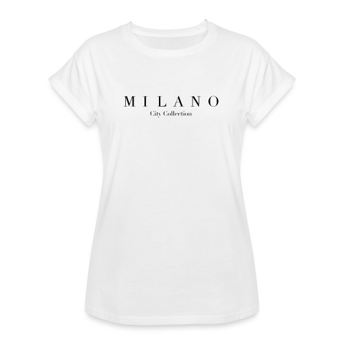 MILANO - T-shirt oversize Femme