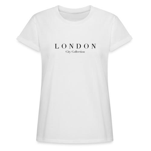 LONDON - T-shirt oversize Femme